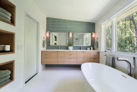 mid century modern bathroom lighting iron fixtures brass