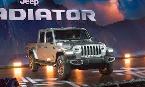2018 L.A. Auto Show: 2020 Jeep Gladiator - » AutoNXT