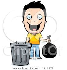Royalty Free Rf Taking Out The Garbage Clipart Illustrations inside Take Out