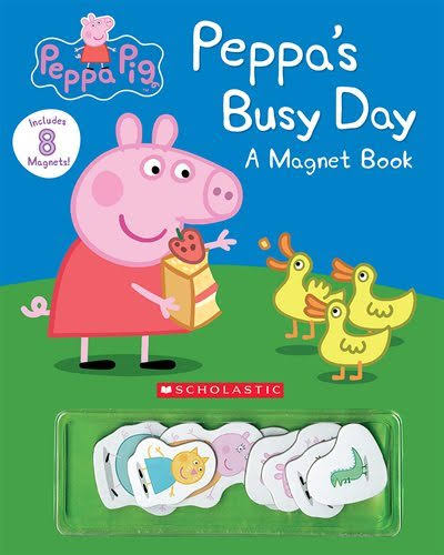 Peppa's Busy Day Magnet Book - Scholastic Inc