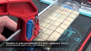 Score And Snap Glass Tile Cutter by Cutting Mosaic And Glass With Manual Tile Cutter Youtube