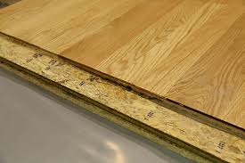 In Many Situations The Installation Method Calls For An Of A Wood Subfloor Over Concrete Different Methods May Be Necessary