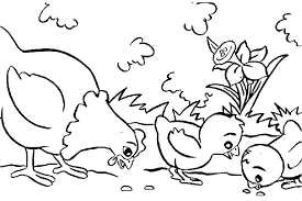 Farm Animals Coloring Pages For Kids Many Interesting Cliparts