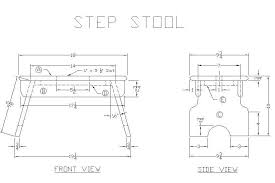 how to build a wooden step stool free woodworking plans from