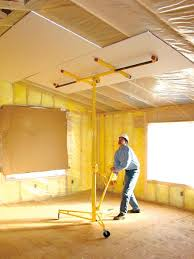 Sheetrock Over Ceiling Tiles by Installing Drywall On Ceilings Arches And Around Curves Diy