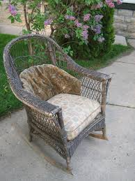 Sweet Inspiration Vintage Wicker Furniture Antique EBay