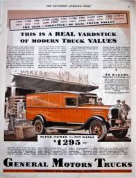1930 General Motors Trucks Vintage Advertisement Antique Truck | Etsy