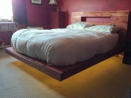 compact floating bed diy 85 diy king size floating platform bed