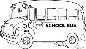 School Bus Transportation Coloring Pages Print Download 291 Prints