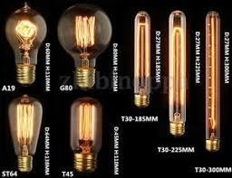e27 e14 b22 40w 60w filament light bulb vintage retro antique