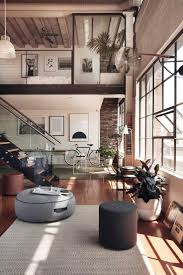 100 Loft Style Home Appealing Office Dreamy Industrial Come