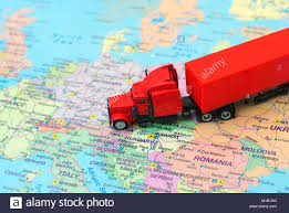 Red Big Cargo Truck On The Map Of Europe Stock Photo: 172961336 - Alamy Delivery Goods Flat Icons For Ecommerce With Truck Map And Routes Staa Stops Near Me Trucker Path Infinum Parking Europe 3d Illustration Of Truck Tracking With Sallite Over Map Route City Mansfield Texas Pennsylvania 851 Wikipedia Road 41 Festival 2628 July 2019 Hill Farm Routes 2040 By Us Dot Usa Freight Cartography How Much Do Drivers Make Salary State Map Food Trucks Stock Vector Illustration Dessert