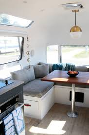 100 Restored Airstream Trailers Light And Airy Restored With Neutral Palette And
