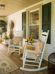 Image Of Rustic Rocking Chairs Ranch