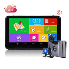 100 Truck Gps App Android 7 Inch DVR Cam Car Rear View Camera GPS Navigation