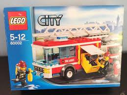 Lego City Fire Truck 60002 Firetruck, Toys & Games, Bricks ...