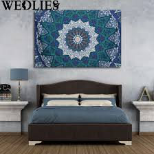 Decoration Synonyms In Hindi by Cheap Tapestries Bedroom Tapestry Blue Elephant Mandala Urban