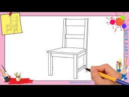 dessiner une chaise dessiner en perspective intérieure table chaises fenêtre
