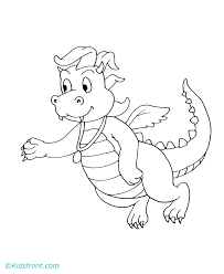 Dragon Tales 2 Coloring Pages Printable