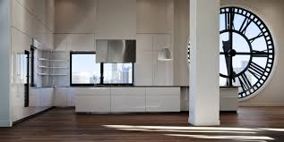 100 Clocktower Apartment Brooklyn Clock Tower Minimal USA Houses Interior