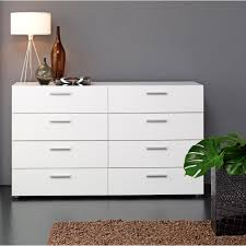 Sauder Harbor View Dresser Antiqued White Finish by Large Dressers