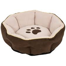 Burrowing Dog Bed by Aspen Pet Sculptured Round Bed 18