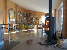 100 Wooden Houses Interior Flo Eric House Modern Extremely Well Insulated LITHOUSE Eco