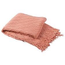 Coral Colored Decorative Items by Amazon Com Honeymoon Velvet Flannel Fleece Throw Lightweight Cozy
