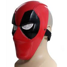 Slipknot Halloween Masks For Sale by Deadpool Mask For Sale X Men Cosplay Cool Deadpool Red Pvc Half