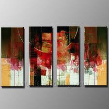 modern paintings on canvas abstract painting set09034