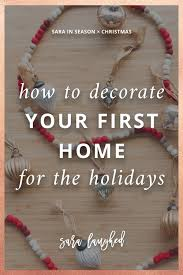 Decorating Our First Home For The Holidays With Minted