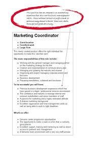 Marketing Resume Objectives Examples Sales Career Objective