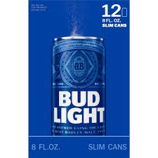 Bud Light Beer 12 pack 8 fl oz Walmart