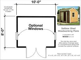 Saltbox Shed Plans 12x16 by Shed Plans For Beginners