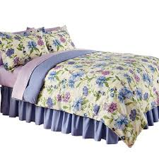 Bed Skirts Queen Walmart by Collections Etc Floral Mayfield Bedroom Comforter Set With