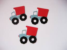 100 Truck Papper Dump Paper Die Cuts Scrapping Your Way
