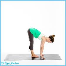 Three Parts Forward Bend Pose Yoga 46
