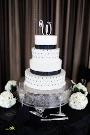 Elegant Black And White Wedding Cakes Luxury Small The