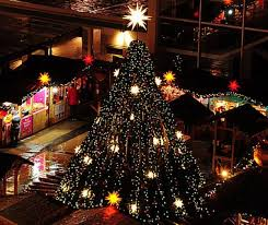 Twinkling Christmas Tree Lights Canada by Vancouver Christmas Market Officially Opens Its Doors For 8th