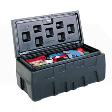 Titan Tool Box 32 In. Poly Tool Box Storage Chest-TT-288000 - The ...
