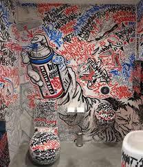 Public Toilet Amazing Graffiti