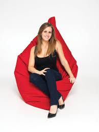 Bean Bag Bed Shark Tank by Yellow Polyester Beanbag Chair The Beanbag Boss Http