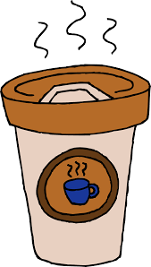 Coffee Cup Clipart Vector Illustrations Pot