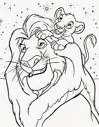 Disney Coloring Pages Coloringfilminspector The Lion King