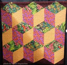 Schaefers Pumpkin Patch Pa by Tumbling Blocks Revisited Quilt Inspiration Bloglovin U0027