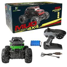 Mud Racer Off Road RC Truck 1:16 – Way Up Gifts 118 4wd Electric Rc Truck Racing Car 24g Remote Control Rock Rampage Mt V3 15 Scale Gas Monster Remo 116 50kmh Waterproof Brushed Short About Stop Truck Stop Revell Mounty Double E 120 End 1520 12 Am 24g 6ch Alloy Dump Rc Big Best Kyosho Mad Crusher Ve Brushless Powered Blue 1 How To Make Tire Chains For Cars Tested Trucks Bulldozer Charging Rtr