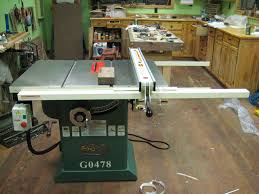Used Grizzly Cabinet Saw by Review The Grizzly G0478 2 Hp Hybrid Cab Saw By Wouldi