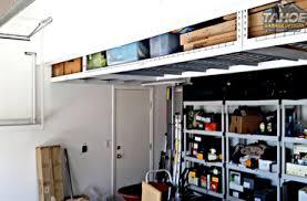 Overhead Garage Storage Installation Tahoe Garage Storage