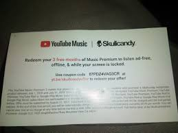 I'm Attempting To Redeem My 3 Free Months Of Music Premium ... Skullcandy Hesh 3 Mikqs S5lhzj568 Anti Stereo Headphones Details About 2011 50 In Ear Micd Earphones Indy True Wireless Black Friday With South Luksbrands Warren Miller Coupon Redemption Printable Kingsford Coupons Snapdeal Baby Diego Grind Headset Uproar Agrees To Sweetened Takeover Bid From Incipio Wsj Warranty For Eu Mud Pie Coupons Promo Codes