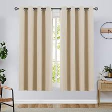 topick vorhang verdunkelungsvorhang mit ösen blickdicht lichtdicht wärmeisolierend vorhänge einfarbig für wohnzimmer schlafzimmer 2 stück145cm x 130cm